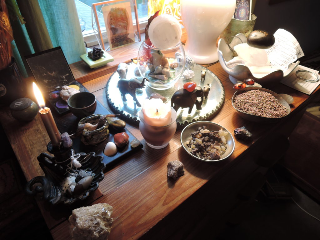 Personal Altar, Highland, New York, USA